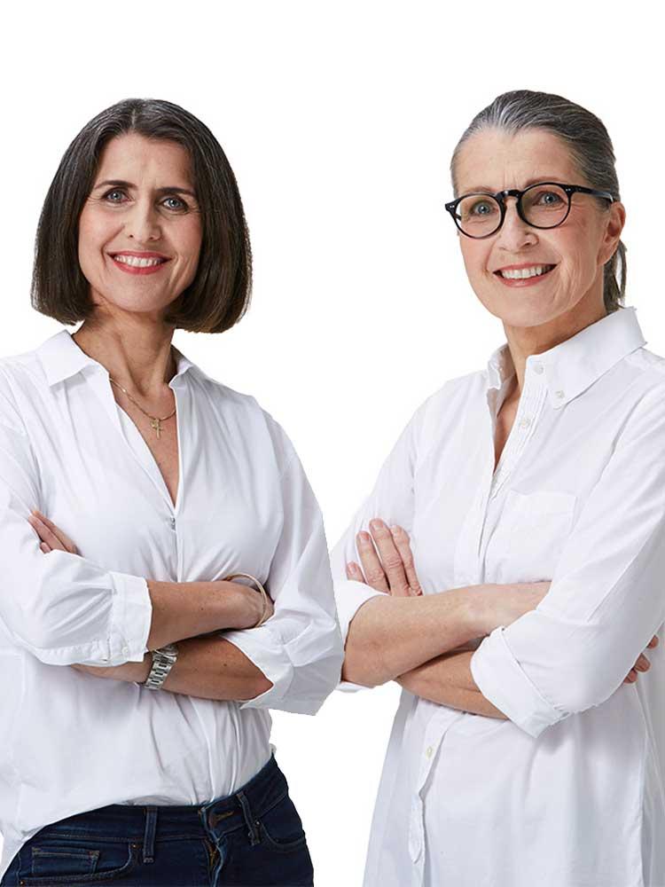 Beate Bösch & Monika Hofer (Foto: Alexander Bayer)r