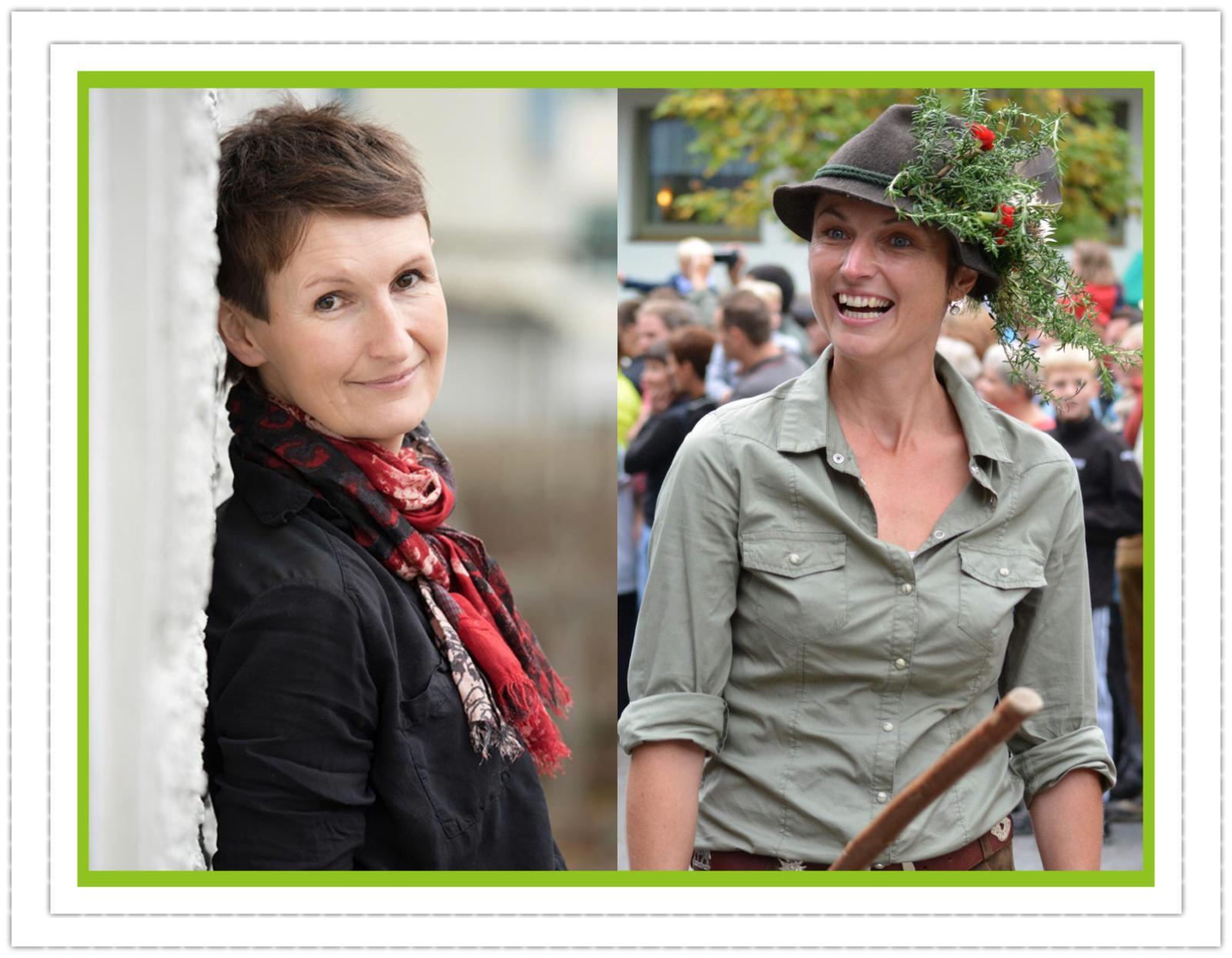 Daniela Alge und Heike Fink; Foto: ©Daniela Alge