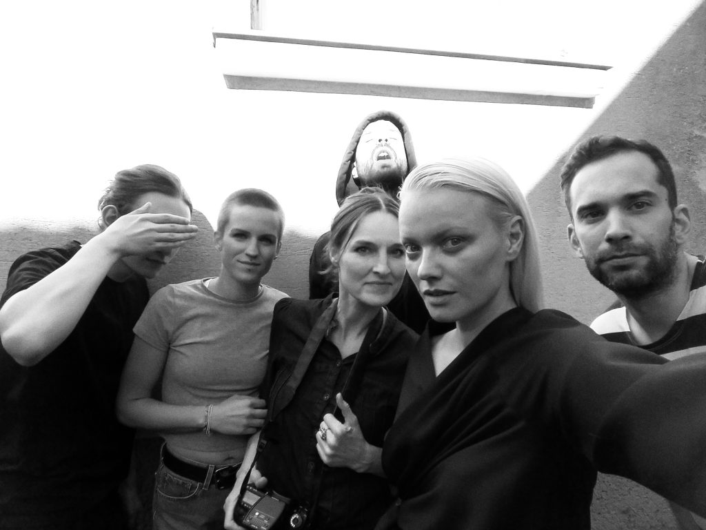 "Photoshoot mit Topmodel Franziska Knuppe für ""wienerin""; ©Rafaela Proell"