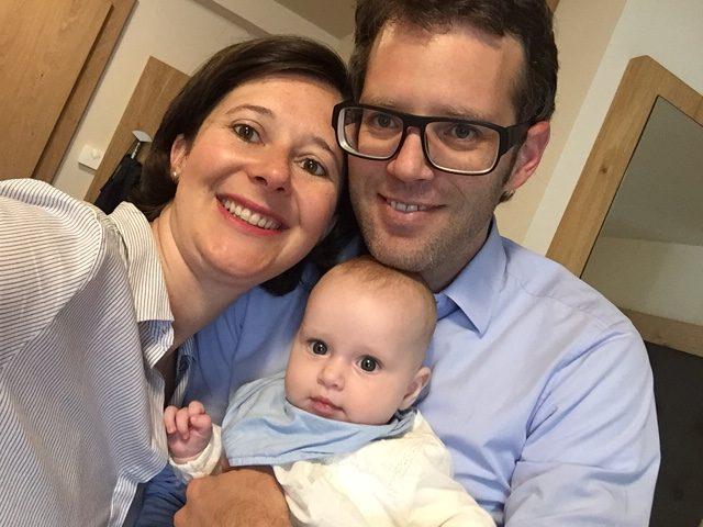 Andrea Längle mit Familie; ©Andrea Längle