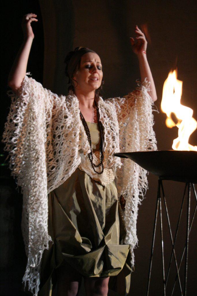 """Iphigenie in """"Oreste"""" von Händel, 2009 ©Sabine Winter"""