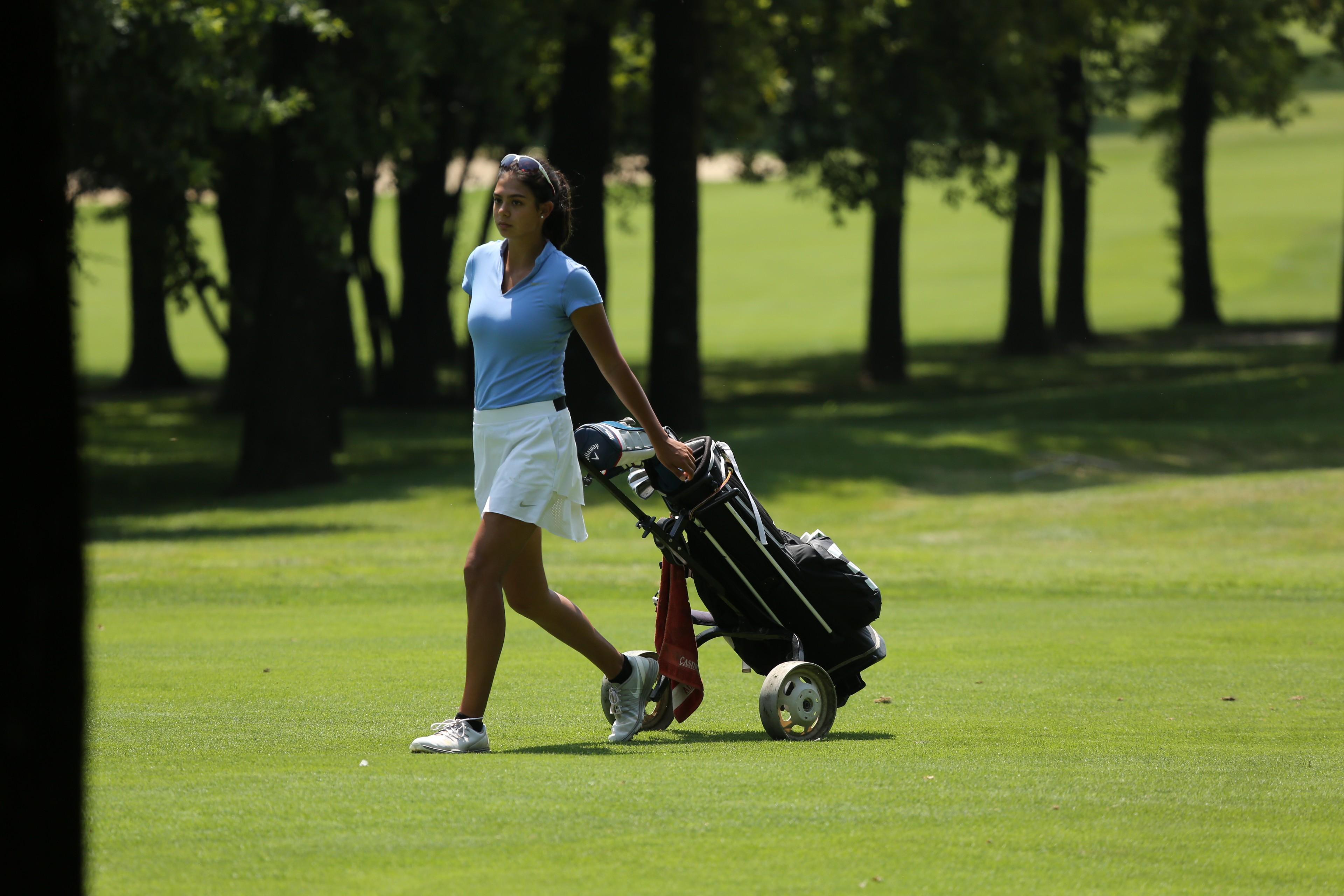 Chantal Düringer auf einem internationalen Turnier am Gardasee; Foto: ©