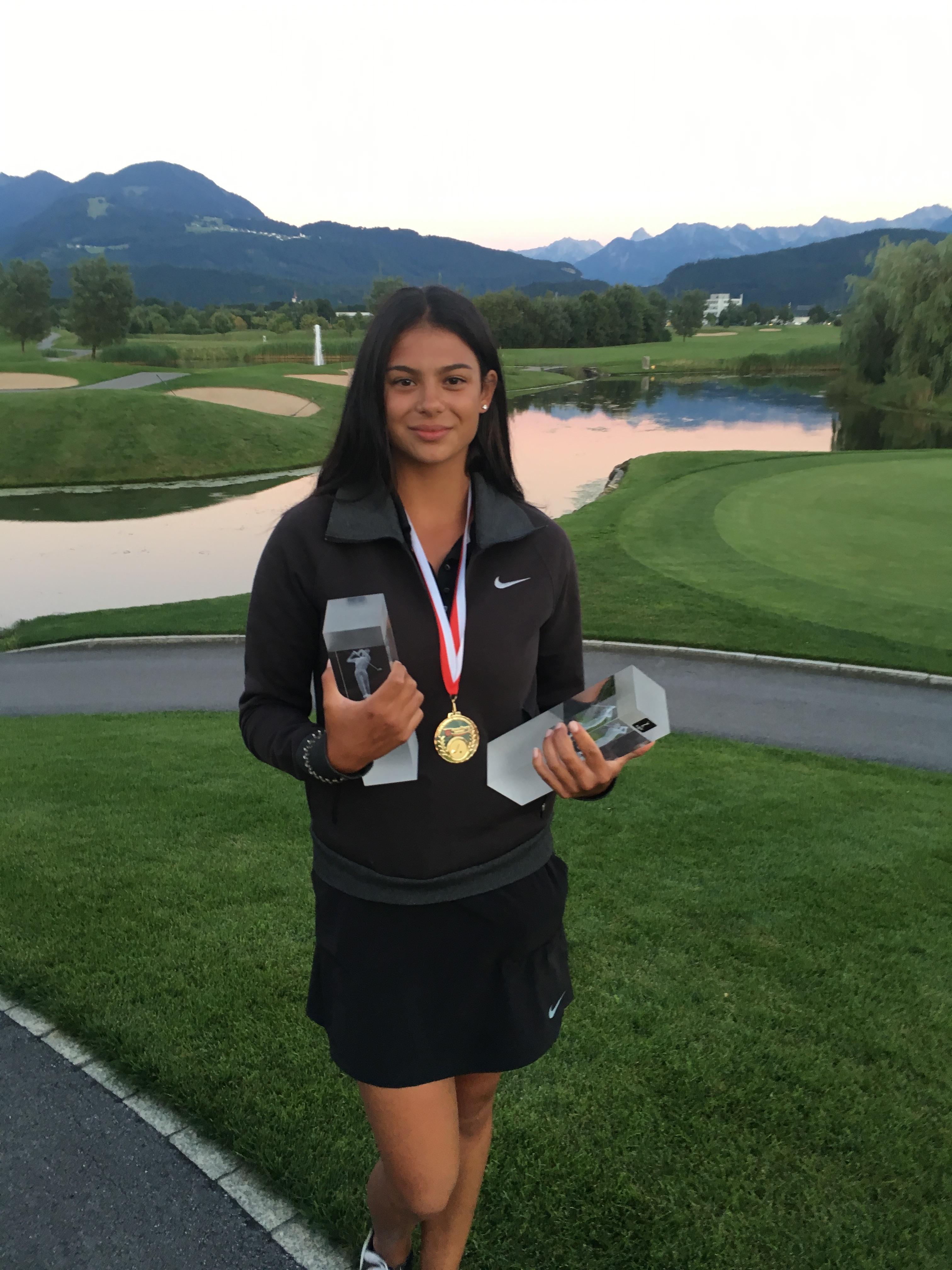 Chantal Düringer will den Golfsport zum Beruf machen; Foto: ©Chantal Düringer