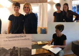 """Buchpräsentation """"Gamsfreiheit""""; Foto: ©""""Schwarz auf Weiß"""""""