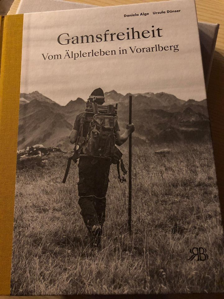 """""""Gamsfreiheit - vom Älplerleben in Vorarlberg""""; Foto: ©""""Schwarz auf Weiß"""""""