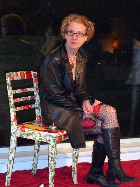 """2012 - Internationaler Frauentag, """"Speeddating"""" mit berühmten Frauen aus der Weltgeschichte; Foto: @Sigrun Berkmann"""
