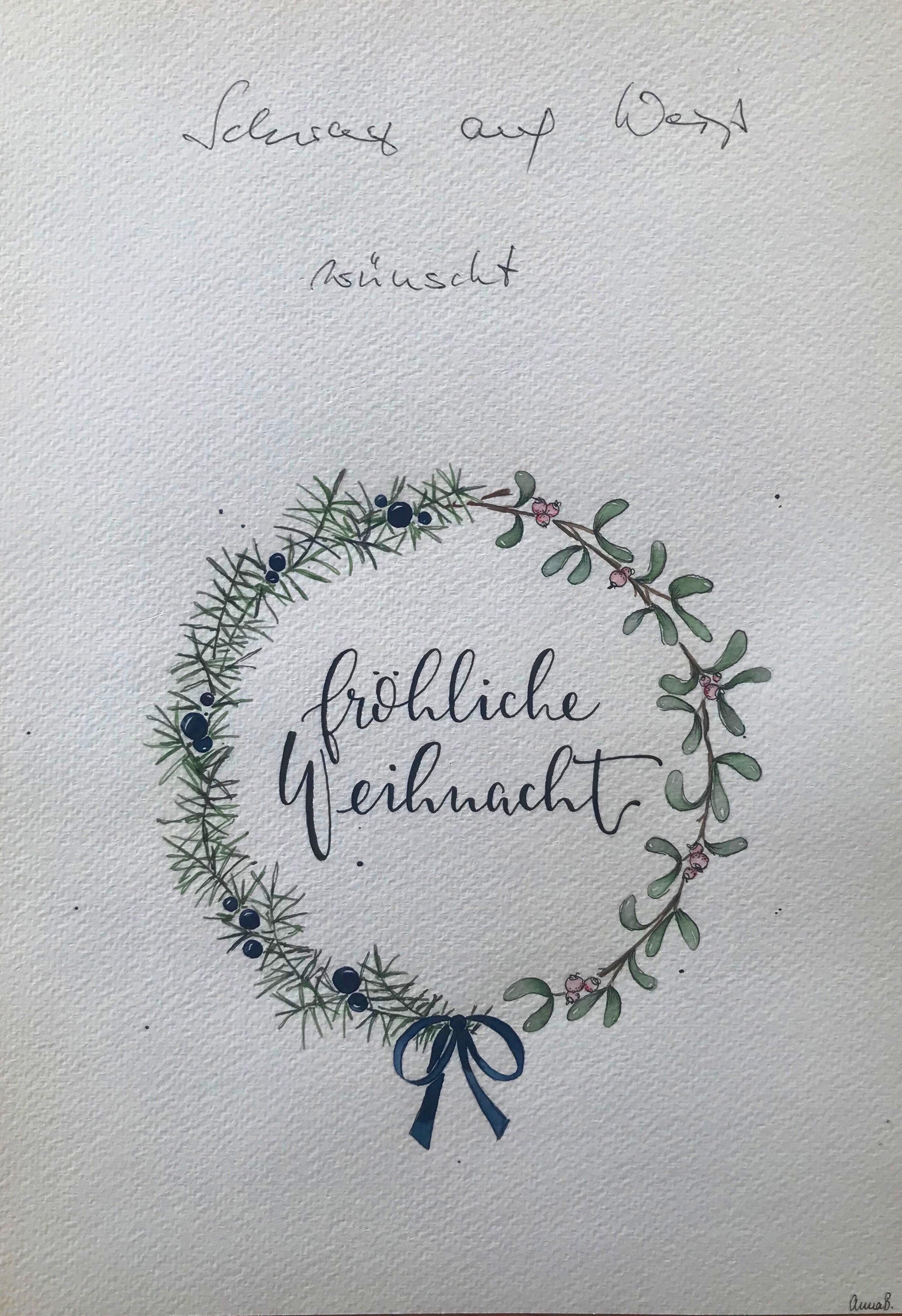 """Kalligrafie: ©""""Letterfee"""" Anna Bösch"""