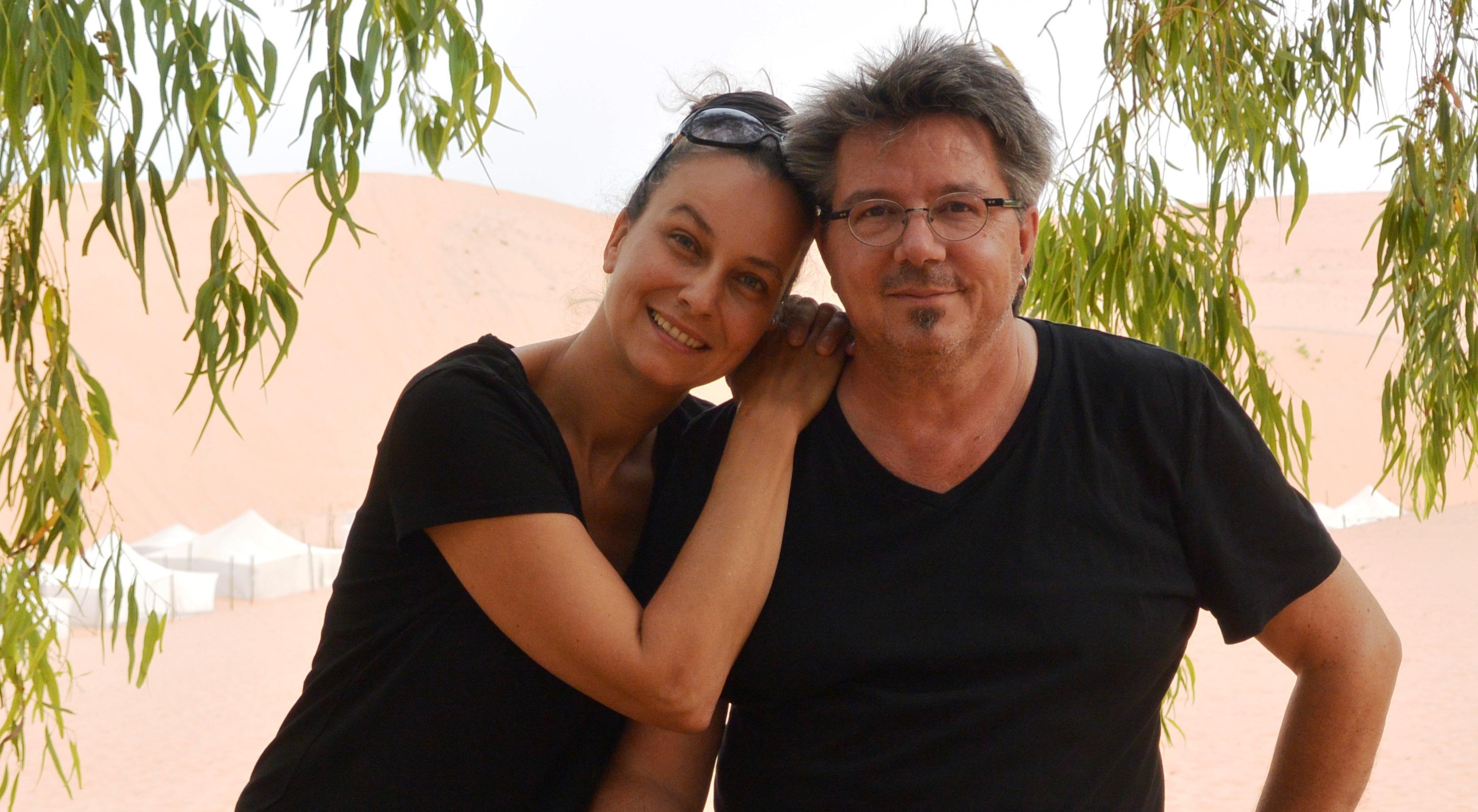 Natalie und Markus Moosmann – gemeinsam in Senegal 2014; Foto: Natalie Moosmann