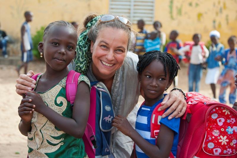 Schultaschen für Senegal 2013; Foto: ©Natalie Moosmann
