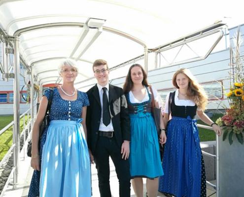 Mit JungautorenInnen beim ORF Heimatherbst 2018; Foto: ©Birgit Rietzler