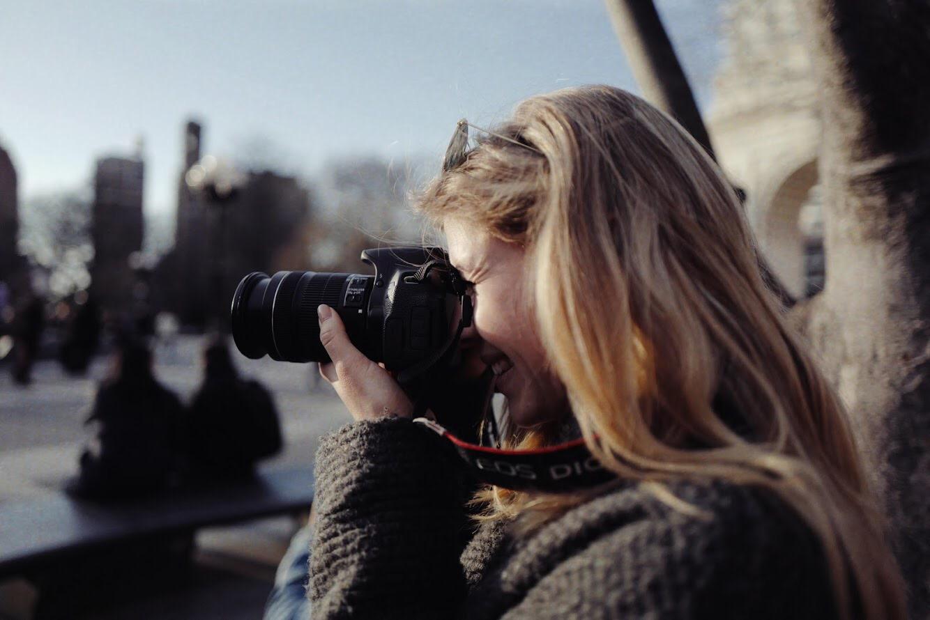"""Linda Christina Riedmann: """"Hier ist die Filmindustrie nicht nur ein großer Traum, sie kann ein realer Job sein."""" Foto: ©Brian Contreras"""